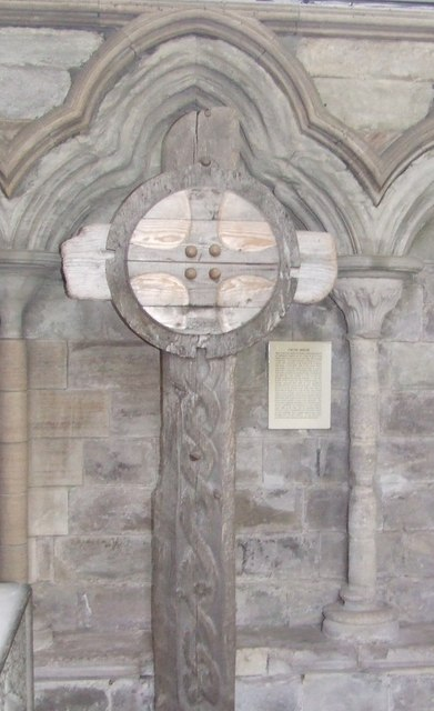 Wooden cross, Dunkeld Cathedral