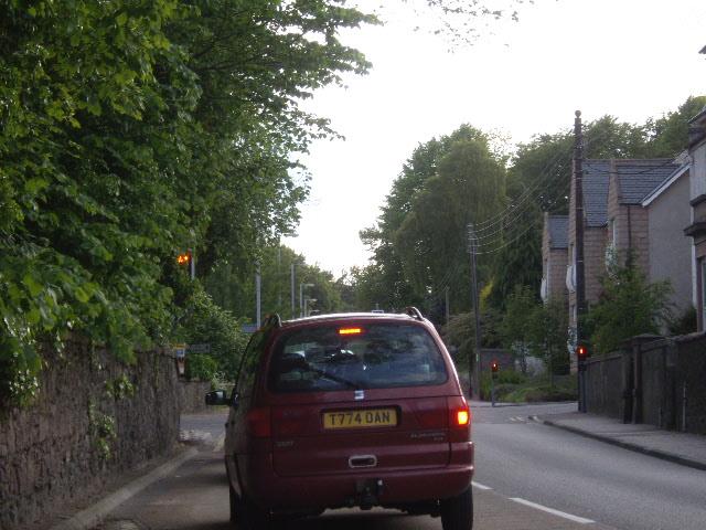 New traffic lights