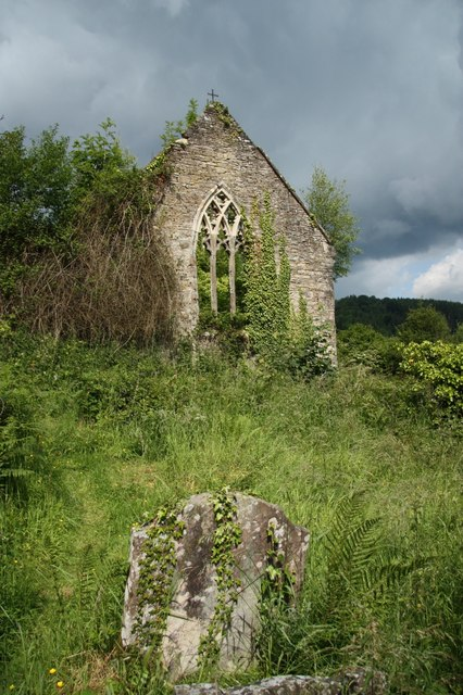 Ruined church