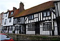 TQ8209 : Tudor house, High St, Old Town, Hastings by N Chadwick