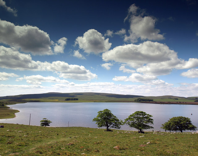 Malham Tarn from the north east