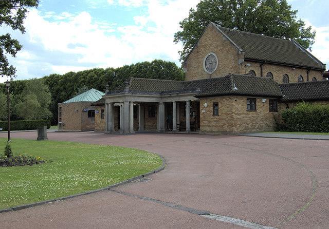 East Chapel, Breakspear Crematorium, Ruislip