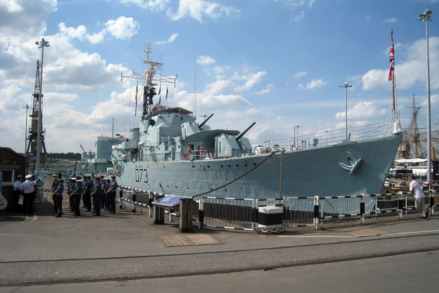 HMS Cavalier & Destroyer, Dry Dock Number 2, Chatham Dockyard, Kent