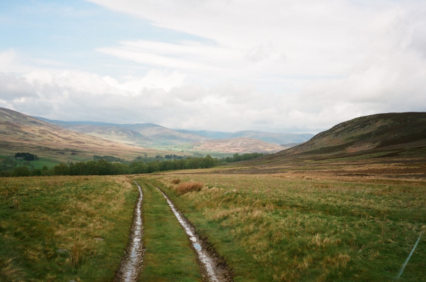 Track near Auchintoul