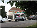 ST5970 : Melvin Square Post Office, Lower Knowle by Dr Duncan Pepper