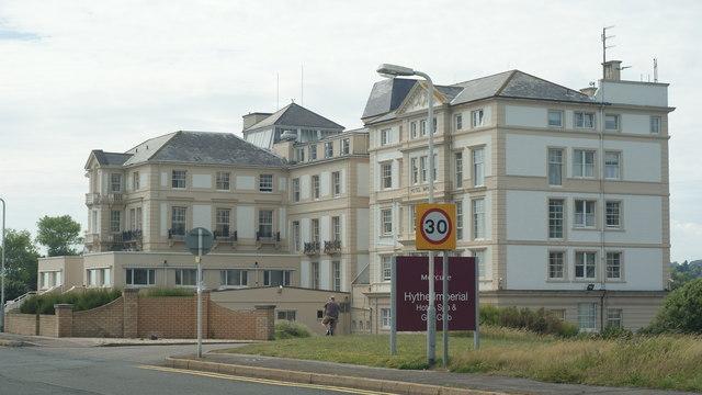 Imperial Hotel Hythe Spa