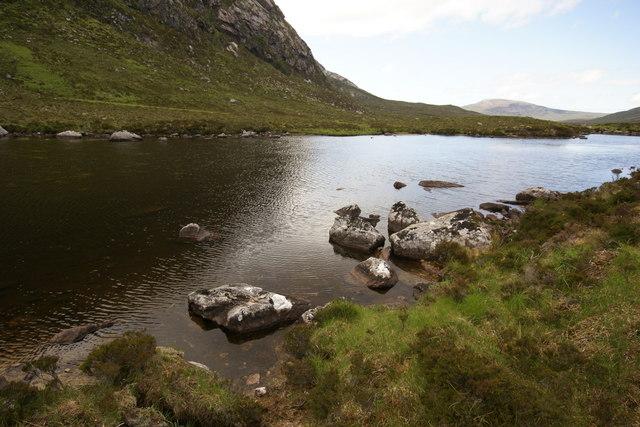 Lochan in Strath Dionard