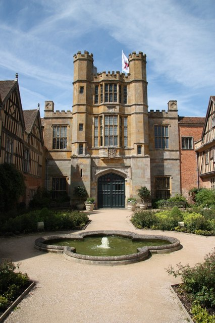 Coughton Court gatehouse