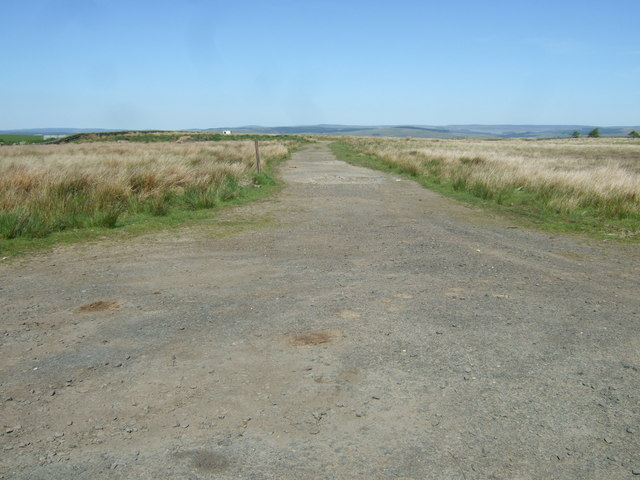 Road to disused quarry