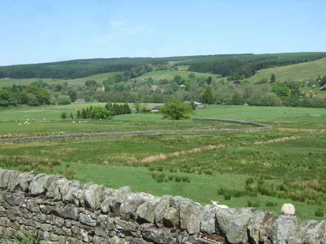 View from near Stannersburn
