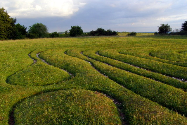 Mizmaze on St Catherine's Hill