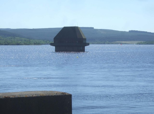View from north end of Kielder Dam