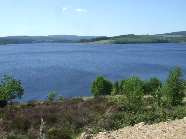 View from Lakeside Way - Kielder Water