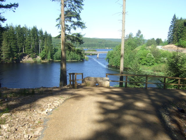 Lakeside Way - Lewis Burn  - Kielder Water