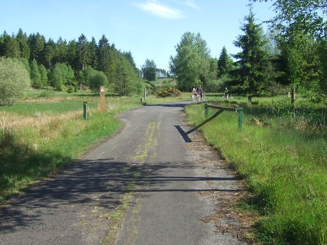 Lakeside Way - near Wellhaugh