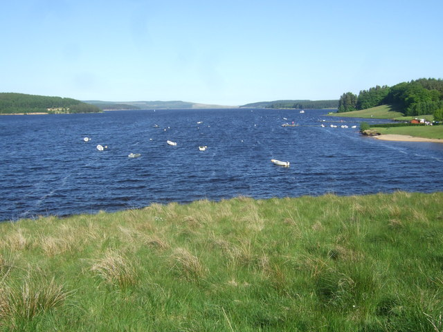 View from Lakeside Way over Kielder Water