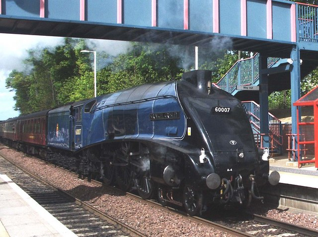 Sir Nigel Gresley 60007 - Dalgety Bay  - Fife Circle Line
