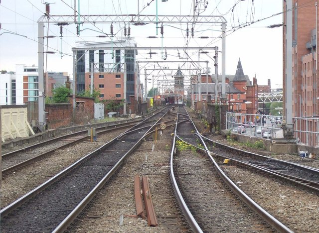The track out of Manchester