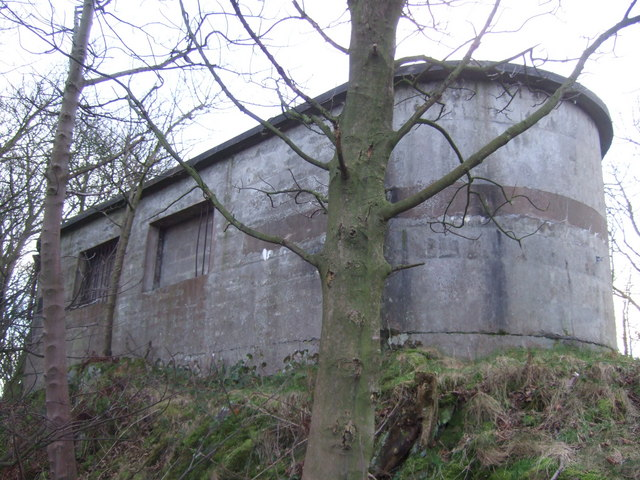 Fortification building from WWII