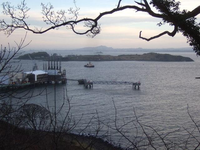 Braefoot Bay marine gas terminal