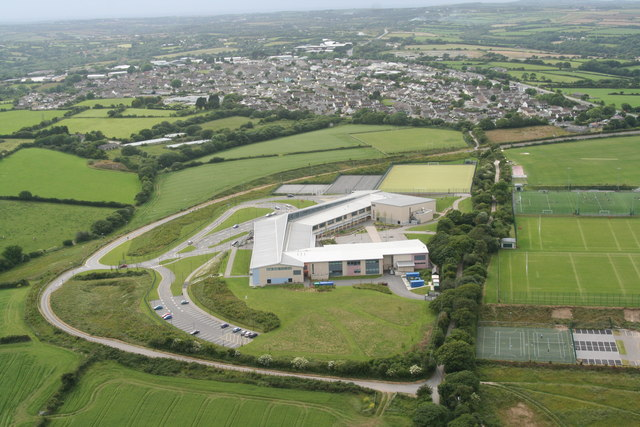 Richard Lander School from the Air