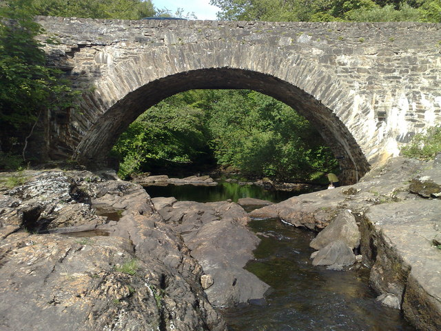 Bridge of Dochart at Killin