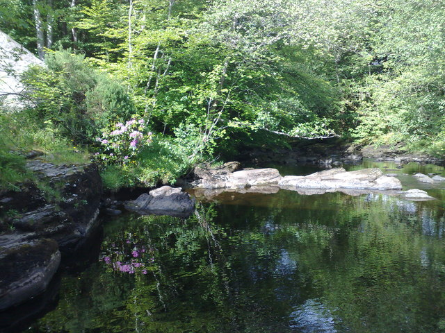 Tranquility at the Falls of Dochart