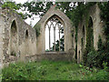 TM1685 : The ruined church of St Mary - view east by Evelyn Simak