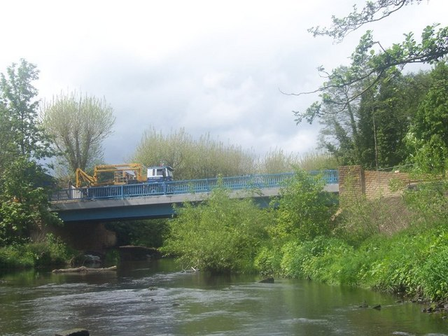 The new bridge at Wardsend