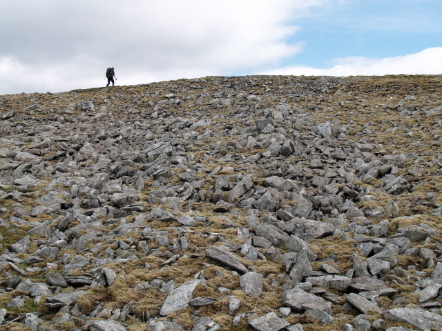 Boulder field below S ridge of An Sgarsoch
