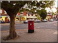 SZ1593 : Christchurch: postbox № BH23 17, Bargates by Chris Downer