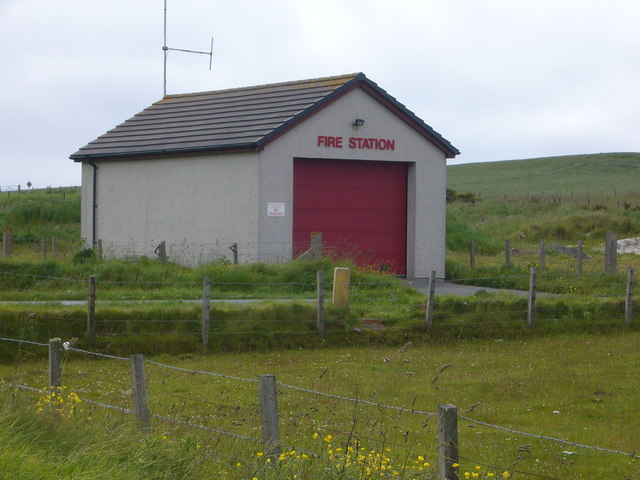 Fire station on Stronsay