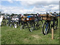 TL0960 : Bike collection, Bolnhurst by Michael Trolove
