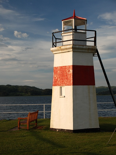 Lighthouse at Crinan