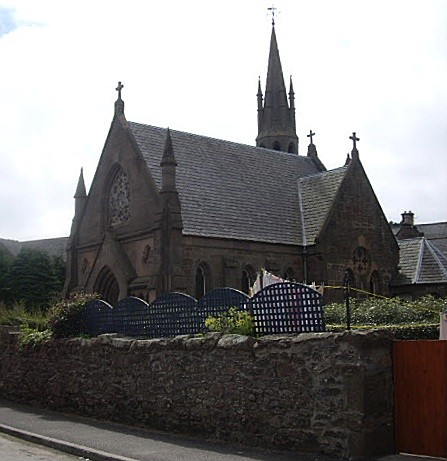 Church in Old Stonehaven