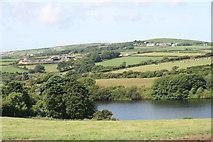 SW4329 : Drift reservoir by Elizabeth Scott