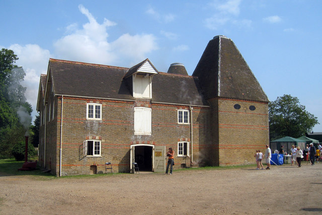 Oast House at Preston Court Farm, Preston, Kent