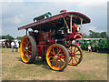 TR2460 : Fairground Steam Engine at Preston Rally, Preston Court Farm by Oast House Archive