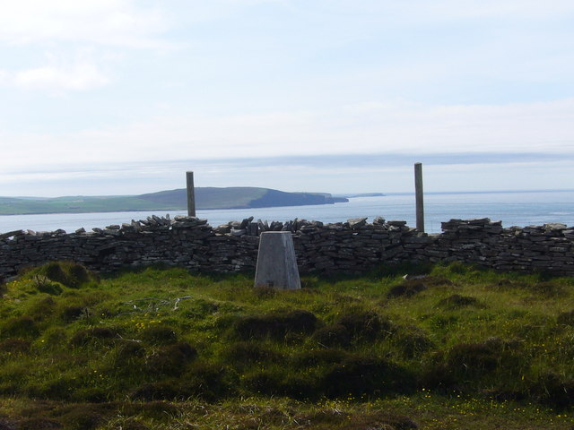 Brae of Moan trig