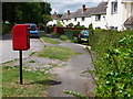 ST8706 : Bryanston: postbox № DT11 128, The Cliff by Chris Downer