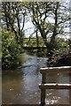 SK1260 : Footbridge over the River Dove (2) by Rob Bradford