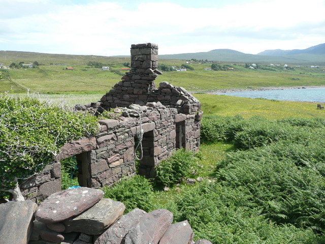 Ruined house at Achlochan