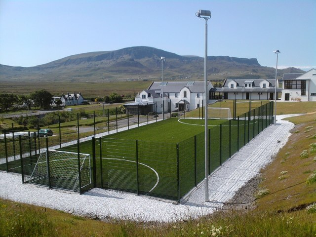 New  5 a side pitch at Columba 1400