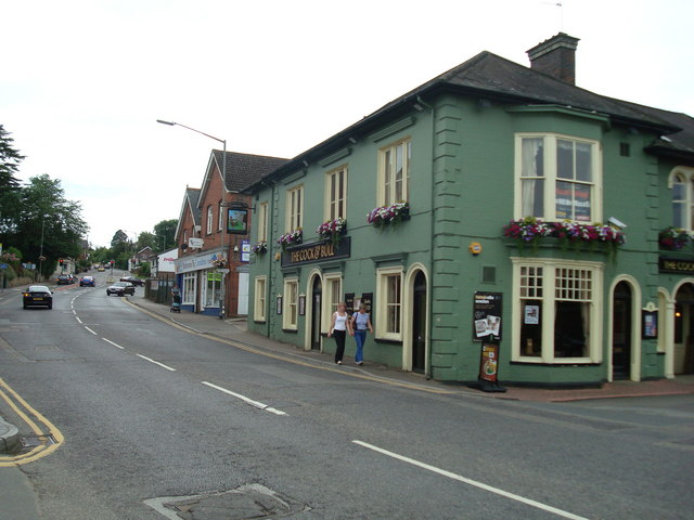 The Cock and Bull public house, Uckfield