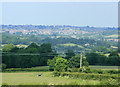 ST6365 : 2009 : View north from Charlton Field by Maurice Pullin