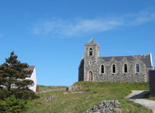 Ruined Church, Castlebay