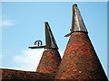 TQ8155 : Cowls of The Oast House, Crismill Lane, Bearsted, Kent by Oast House Archive
