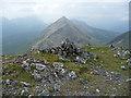 NG5230 : Summit cairn on An Coileach : Week 26