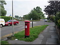 SZ1592 : Christchurch: postbox № BH23 55, Wick Lane by Chris Downer