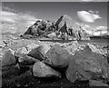 NS3974 : Dumbarton Rocks by Gordon Doughty